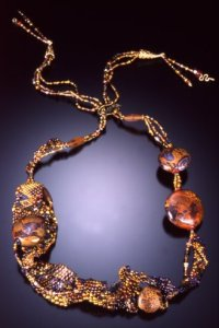 Klimt Necklace by Ann Dillon